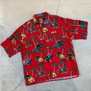Vintage Next Originals Classic Cars Hawaiian Shirt